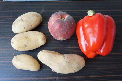 Obst und Gemüse Einkauf