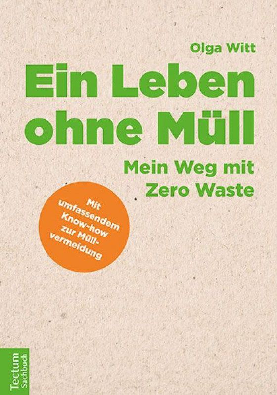 """Buchcover """"Ein Leben ohne Müll"""""""